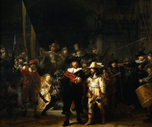 """The NIght Watch"" by Rembrandt van Rijn Rijksmuseum, Amsterdam"