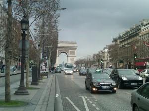 Champs-Èlysèes, Paris