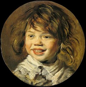 """Laughing Boy"" by Frans Hals Mauritshuis, Den Hague"