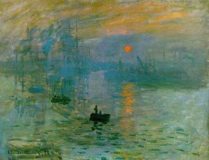 """Impression - Sunrise"" by Claude Monet Musèe Marmottan Monet, Paris"