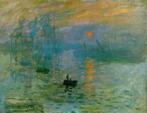 """""""Impression - Sunrise"""" by Claude Monet Musèe Marmottan Monet, Paris"""