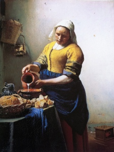 """""""Milkmaid"""" by Johannes Vermeer Rijksmuseum,Amsterdam"""