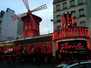 """Moulin Rouge"", Paris"
