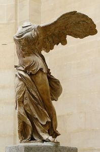 """Winged Victory of Samothrace"" Louvre, Paris"