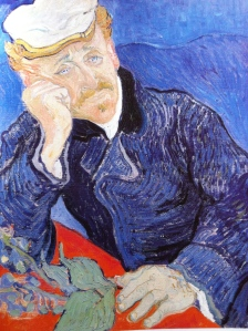 """Portrait of Dr.Gatchet"" by Vincent van Gogh Musee D' Orsay, Paris"