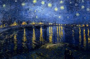 """Starry Night Over the Rhone"" by Vincent Van Gogh Musèe D'Orsay, Paris"