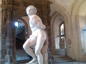 """""""The Captive Slave"""" by Michelangelo Louvre,PAris"""
