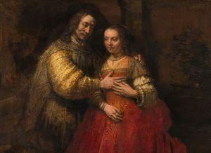 """""""The Jewish Bride"""" by Rembrandt van Rijn Rijksmuseum, Amsterdam"""