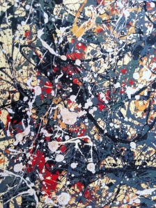 Number 8 by jackson Pollock Neuberger Museum, Purchase(NY)