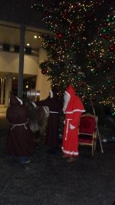 Santa In Zurich