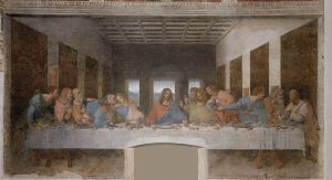 """The Last Supper"" by Leonardo Da Vinci Santa Maria Delle Grazie, Milan"