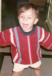 My Brother - This baby is now a freshman at Columbia University