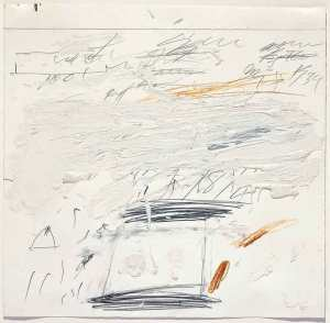 Poems to the Sea - Cy Twombly - Sold for a record 21Million$